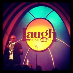 Photo taken at Laugh Factory by Romany M. on 3/11/2013