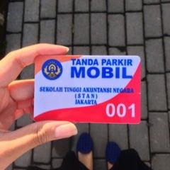 Photo taken at Sekolah Tinggi Akuntansi Negara (STAN) by Rettha S. on 6/18/2013