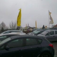 Photo taken at Auto Engleder Hofkirchen GmbH by Günter H. on 11/29/2012