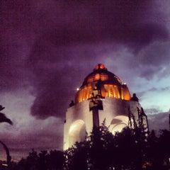 Photo taken at Monumento a la Revolución Mexicana by Héctor E. on 6/29/2013