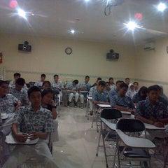 Photo taken at SMAN 98 Jakarta by prasasti o. on 9/19/2013