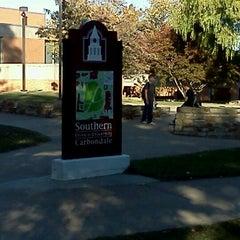 Photo taken at SIU Student Center by Misty A. on 10/15/2012