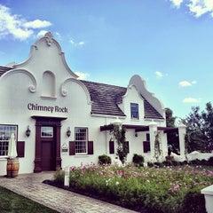 Photo taken at Chimney Rock Winery by Jon P. on 5/28/2013