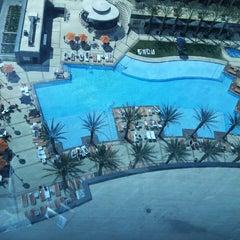 Photo taken at Elara, Hilton Grand Vacations-Center Strip by Lilian R. on 4/12/2013