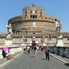 Photo taken at Giardini di Castel Sant'Angelo by Cathy A. on 7/26/2013