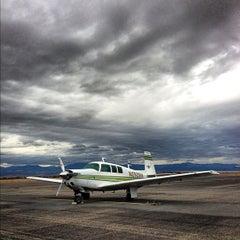 Photo taken at Helena Regional Airport (HLN) by kris k. on 10/15/2012