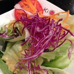 Photo taken at Kiku Japanese Steak & Sushi by Elizabeth S. on 5/10/2013