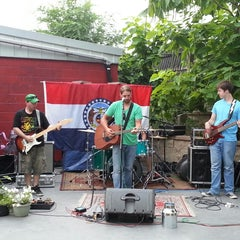 Photo taken at Rose Music Hall by Eapen T. on 7/5/2013