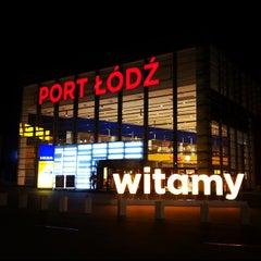 Photo taken at Port Łódź by Caner G. on 10/11/2012