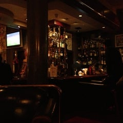 Photo taken at Bar Dessiné (Radisson BLU) by Francesco R. on 10/16/2012