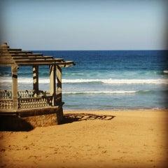 Photo taken at Playa de Zarautz by Yo misma on 10/6/2012