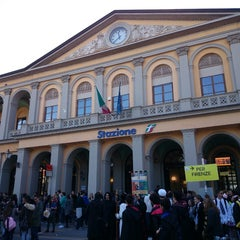 Photo taken at Stazione Lucca by Shinsuke N. on 11/1/2014