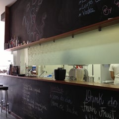 Photo taken at Bogart Café by Lilia C. on 10/5/2012
