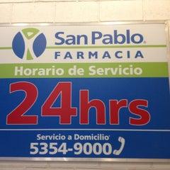 Photo taken at Farmacia San Pablo by Aiban N. on 10/12/2012