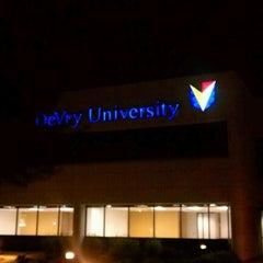 Photo taken at DeVry University Phoenix Campus by Raven C. on 10/7/2012