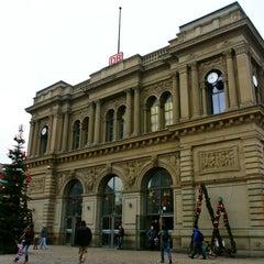 Photo taken at Mainz Hauptbahnhof by maru j. on 12/24/2012