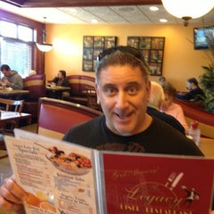 Photo taken at Legacy Diner by Tara K. on 10/21/2012