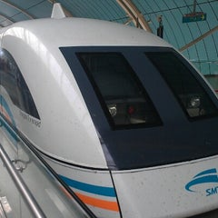 Photo taken at 磁悬浮龙阳路站 Maglev Train Longyang Road Station by Michael S. on 10/21/2012
