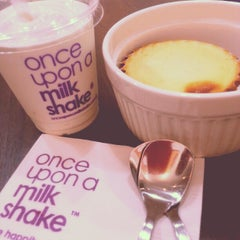 Photo taken at Once Upon A Milk Shake by Peiling S. on 1/1/2013