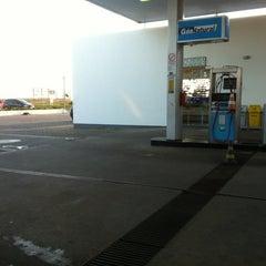 Photo taken at Posto BR by Sabrina R. on 10/18/2012