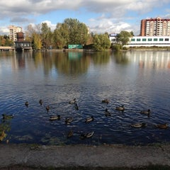 Photo taken at Ольгинский пруд by Кристина on 10/7/2012