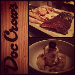 Photo taken at Doc Crow's Southern Smokehouse & Raw Bar by Chase C. on 12/15/2012