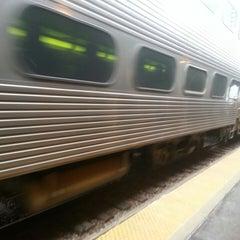 Photo taken at Metra - Evanston (Davis Street) by Will T. on 3/25/2013
