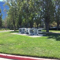 Photo taken at Oracle Plaza by Julian K. on 5/26/2015