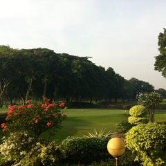 Photo taken at Jakarta Golf Club (JGC) by Chloe on 8/9/2014