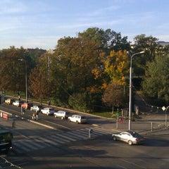 Photo taken at Moravské náměstí by Jakub Z. on 10/18/2012