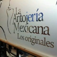 Photo taken at Antojería Mexicana by Esteban M. on 11/28/2012