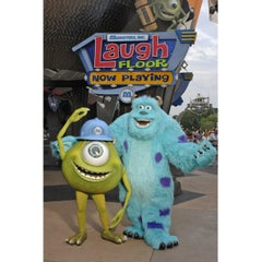 Photo taken at Monsters, Inc. Laugh Floor by Orlando e. on 1/6/2013