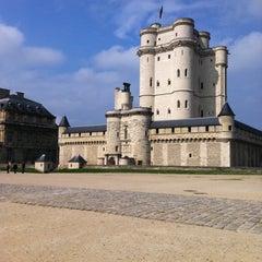 Photo taken at Château de Vincennes by Giulia S. on 4/28/2013