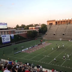 Photo taken at Harvard Stadium by Dean on 6/22/2013