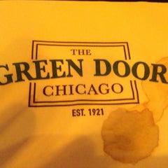 Photo taken at Green Door Tavern by Garrett R. on 12/4/2012
