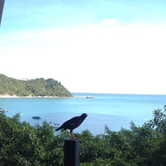 Photo taken at Panviman Resort Koh Phangan by Tzafrir Z. on 9/18/2012