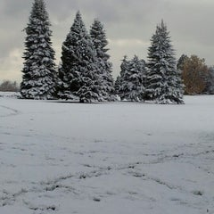 Photo taken at Cheesman Park by Andrew R. on 10/25/2012