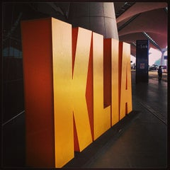 Photo taken at Kuala Lumpur International Airport (KUL) by Edmond Y. on 6/21/2013