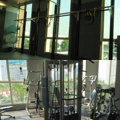 Photo taken at Fitness First by Hou F. on 7/27/2015