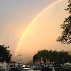 Photo taken at Manoa Marketplace by Liberty P. on 1/24/2013