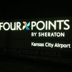 Photo taken at Four Points by Sheraton Kansas City Airport by Daniel P. on 12/8/2014