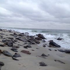 Photo taken at Sandy Point Plum Island Reservation by Stephanie Y. on 11/3/2013