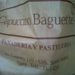 Photo taken at Capuccino Baguette by Luis M. on 1/9/2013
