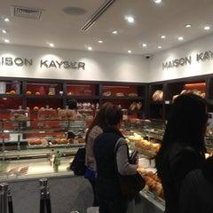 Photo taken at Maison Kayser by Alisa P. on 11/18/2012