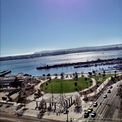Photo taken at Embassy Suites San Diego Bay - Downtown by Tivon on 9/16/2012