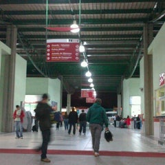 Photo taken at Terminal Rodoviário Internacional de Itajaí (TERRI) by Rodrigo Luan B. on 10/14/2012