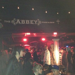 Photo taken at The Abbey Food & Bar by Nolan S. on 11/22/2012