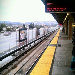 Photo taken at Castro Valley BART Station by Peg H. on 10/11/2012
