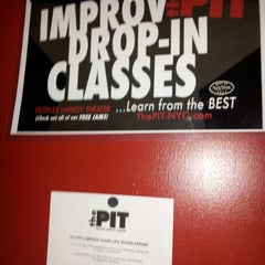 Photo taken at The Peoples Improv Theater by Janiela P. on 10/19/2012