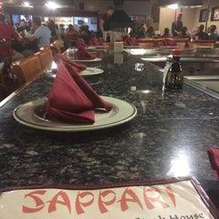 Photo taken at Sappari Japanese Steak House by LA R. on 8/14/2014